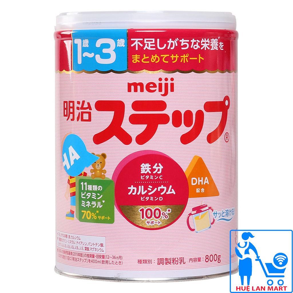 Sữa Bột Meiji Nội Địa 1-3 Hộp 800g (Cho trẻ...
