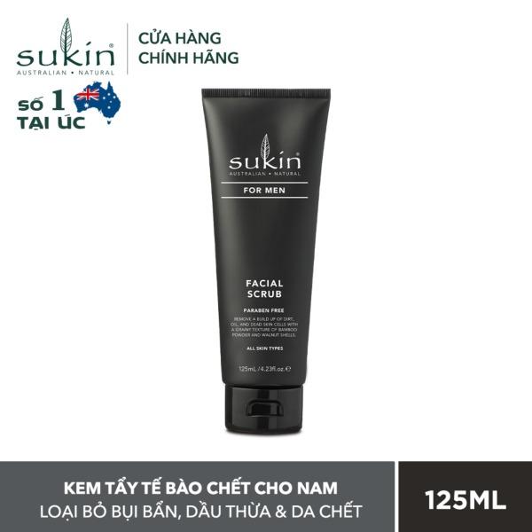 [QUÀ TẶNG ĐƠN TỪ 300K]Kem tẩy tế bào chết dành cho nam Sukin For Men Facial Scrub 125ml giá rẻ
