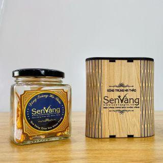 SEN VÀNG - Quà tặng hộp gỗ đông trùng hạ thảo 10gr thumbnail
