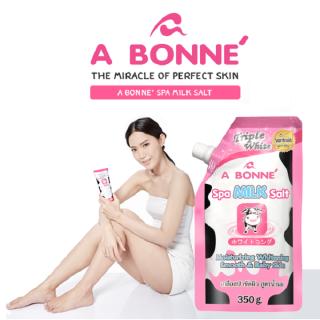 350g Muối Tắm Tẩy Tế Bào Chết Chiết Xuất Sữa Bò A Bonne Spa Milk Salt thumbnail