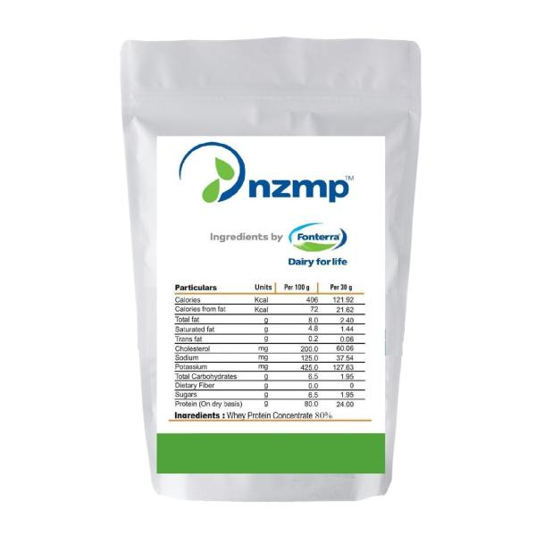 Nzmp Concentrate Whey Protein Powder 80%