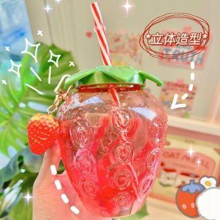 Bình đựng nước hình quả dâu thumbnail