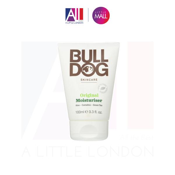 Dưỡng ẩm da thường cho nam Bulldog Original Moisturiser 100ml (Bill Anh) cao cấp