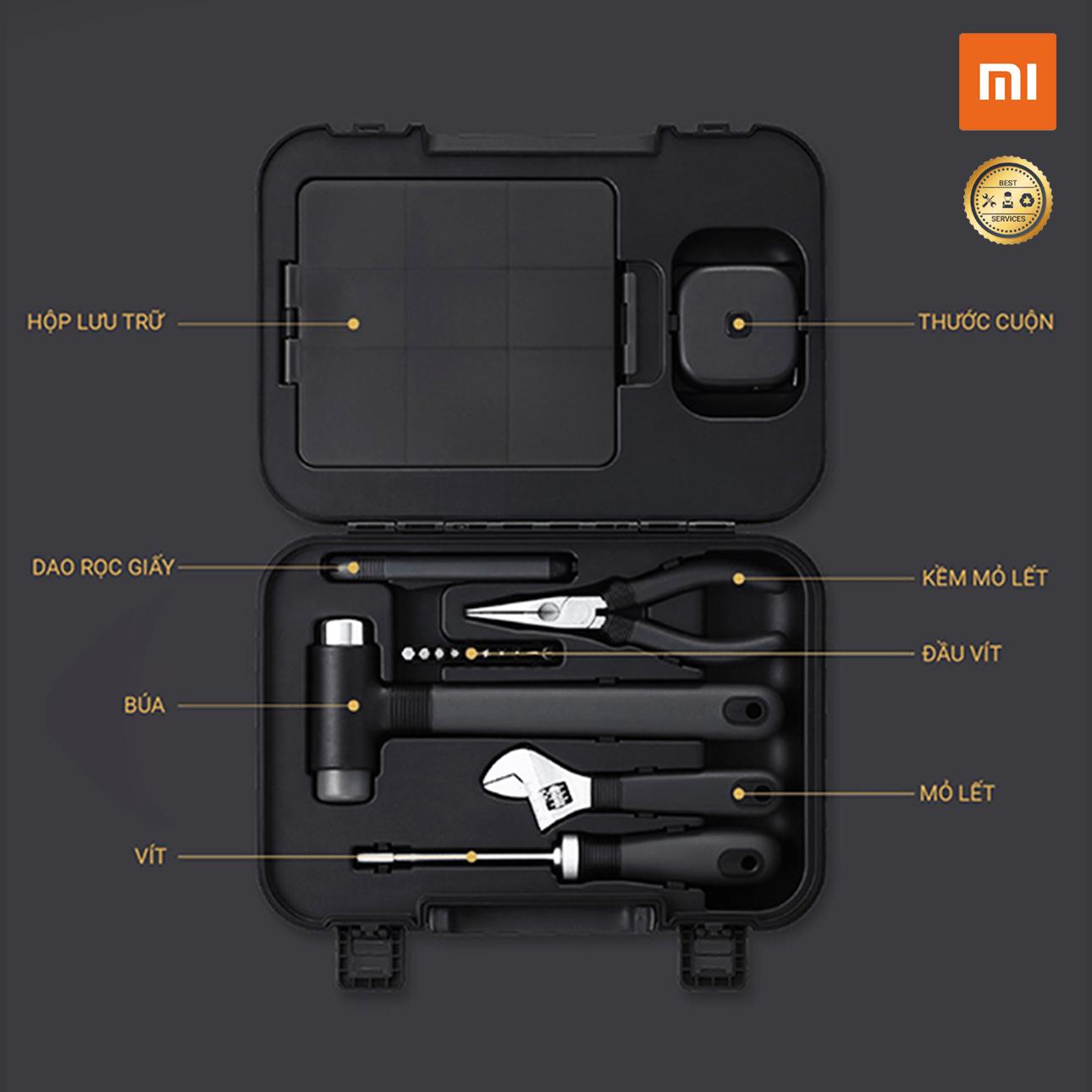 Bộ Dụng Cụ Sửa Chữa Nhà 17 Món MWTK01 Xiaomi Miwu Toolbox Siêu Ưu Đãi tại Lazada