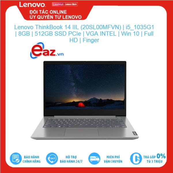 Bảng giá Lenovo ThinkBook 14 IIL (20SL00MFVN)   i5 1035G1   8GB   512GB SSD PCIe   VGA INTEL   Win 10   Full HD   Finger Brand New 100%, hàng phân phối chính hãng, bảo hành toàn quốc Phong Vũ
