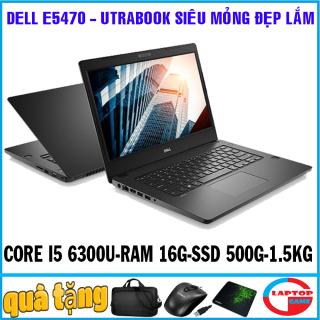 Dell Latitude E5470 (siêu mỏng tuyệt đẹp cao cấp) core i5-6300U, RAM 16G, SSD 256G, màn 14 nặng 1.5kg ) Laptop đẳng cấp doanh nhân Utrabook Mỏng Nhẹ sang trọng thumbnail