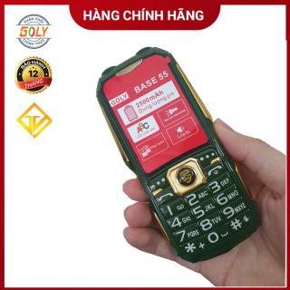 Điện thoại Goly Base 55 kèm ốp lưng - Loa to - Pin trâu - Hàng chính hãng thumbnail