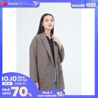 [MUA 2 GIẢM 30K] Áo Khoác nữ IVY moda MS 71B7717 thumbnail