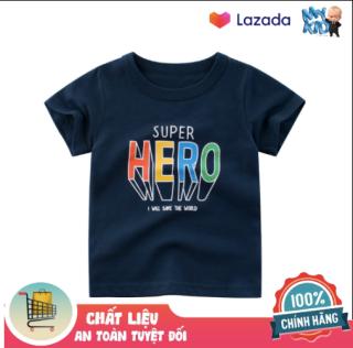 [ VIDEO ] A422 Áo thun bé trai 27KIDS chất liệu 100% cotton in hình SUPER HERO cho bé từ 10-33kg (2 tuổi -10 tuổi ) an toàn mềm mịn thích hợp cho bé đi học đi chơi thumbnail