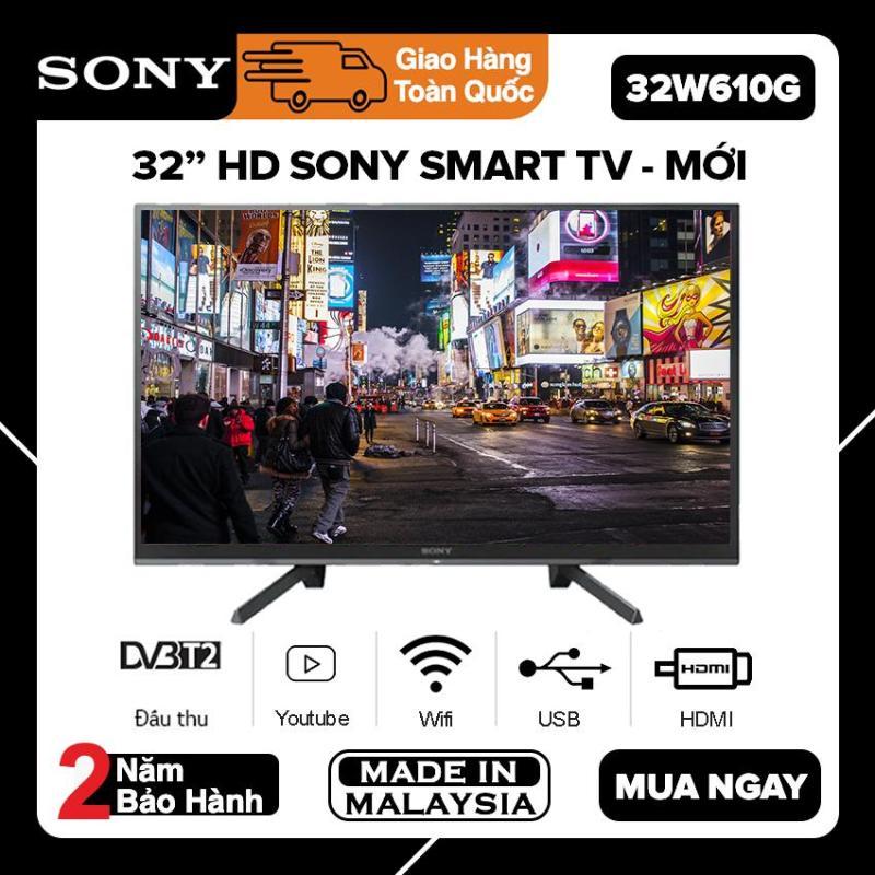 Bảng giá ( SĂN VOUCHER 50K ) Smart Tivi Sony 32 inch HD - Model KDL-32W610G Chiếu màn hình điện thoại, Youtube, Netflix, Tivi Giá Rẻ - Bảo Hành 2 Năm