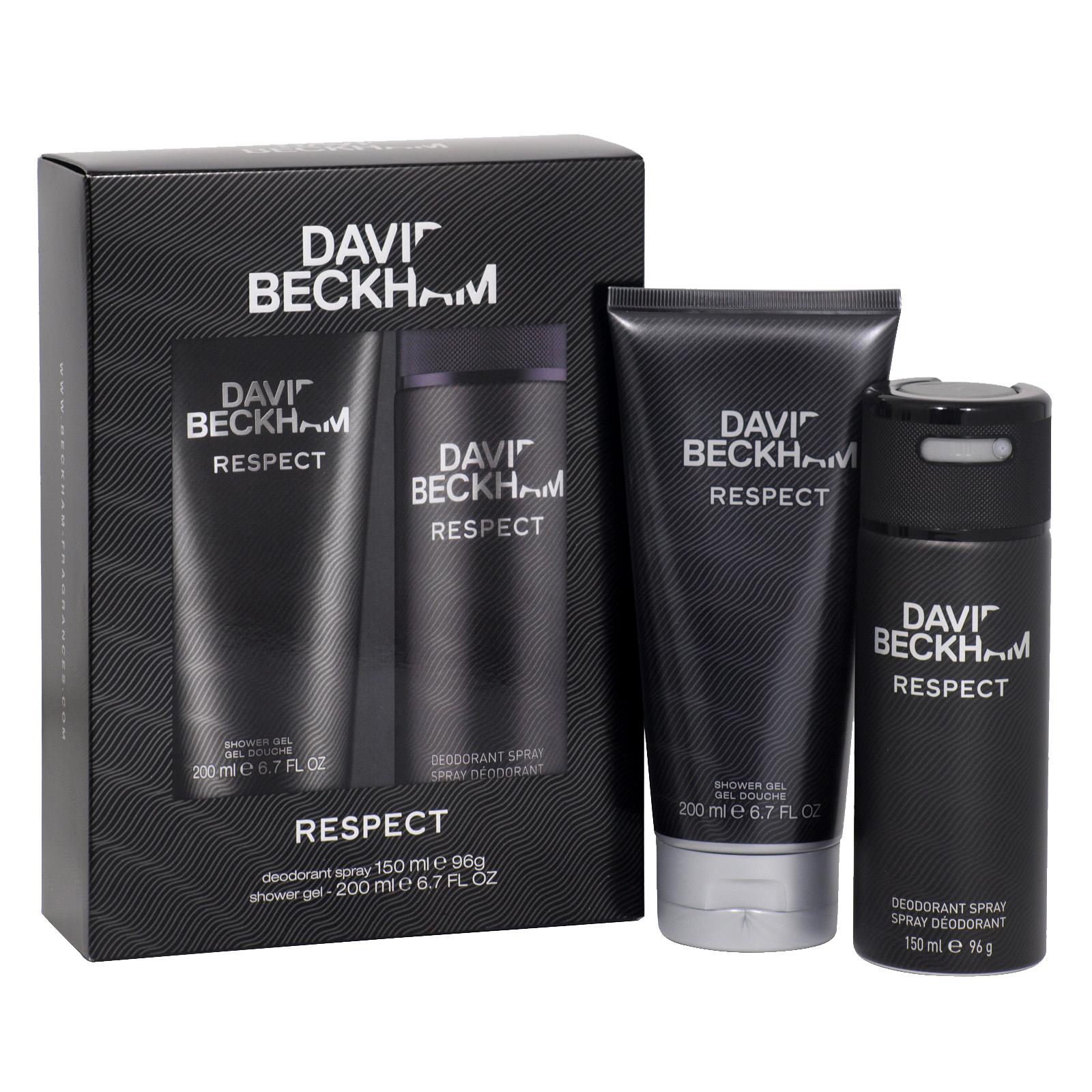 Bộ sản phẩm chăm sóc toàn thân David Beckham Respect ( DEO + GelS)