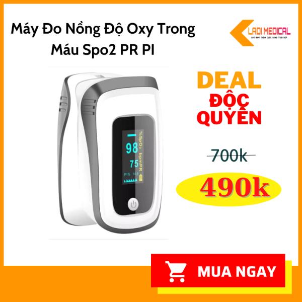 Nơi bán Máy đo nồng độ oxy trong máu SpO2, nhịp tim và PI