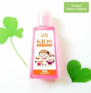 Gel rửa tay khô 3k (60ml) Lamcosmé-KIDS hương cho trẻ em thumbnail