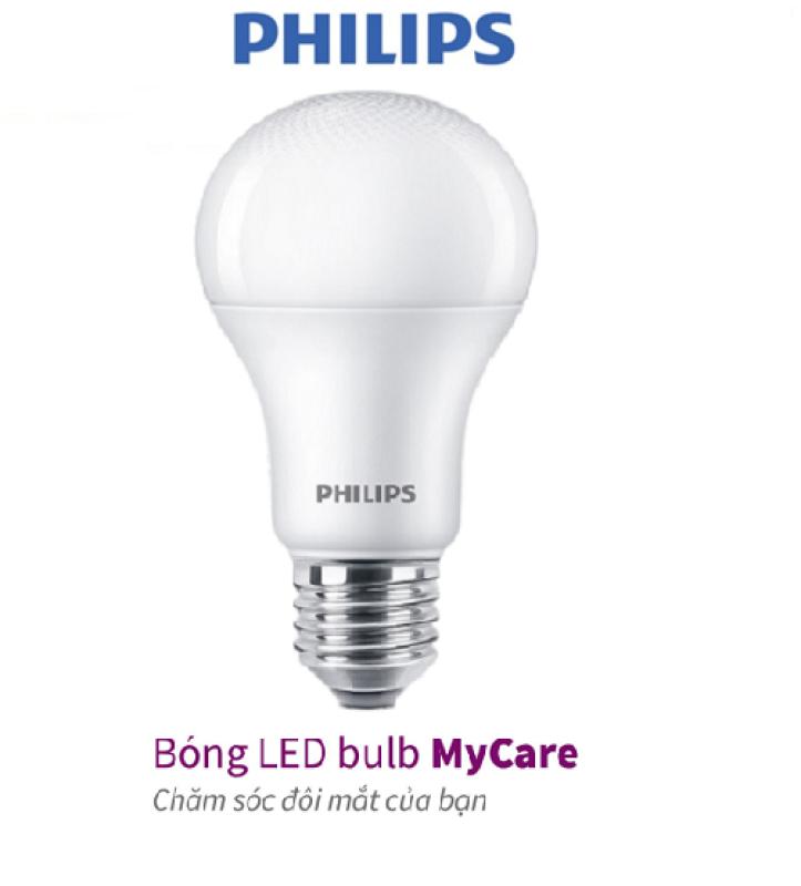 Bóng đèn PHILIPS LED BULB Mycare A60 -Công suất (4W,6W,8W,10W,12W)