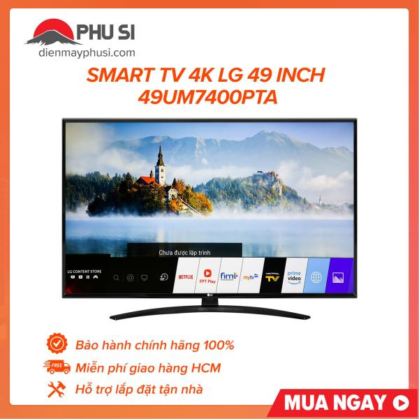 Bảng giá [Trả góp 0%]Smart Tivi LG 4K 49 inch 49UM7400PTA