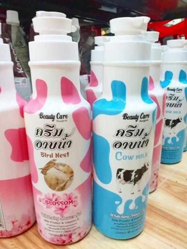 Tắm Trắng Da Beauty care Thái Lan 1200 ml Thái nhập khẩu