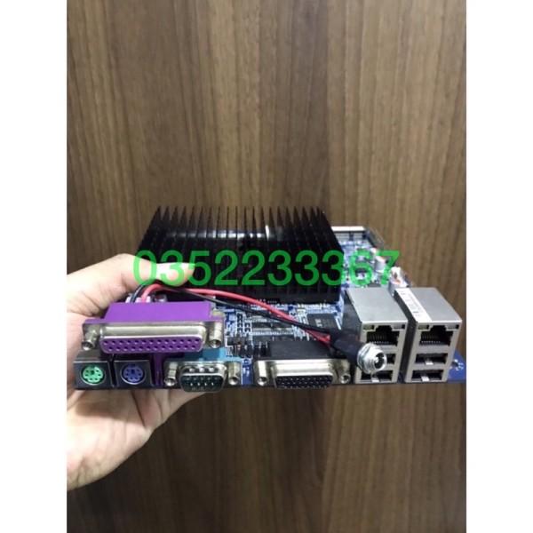 Bảng giá Main ITX công nghiệp, 2 cổng LAN, mPCI-e Phong Vũ