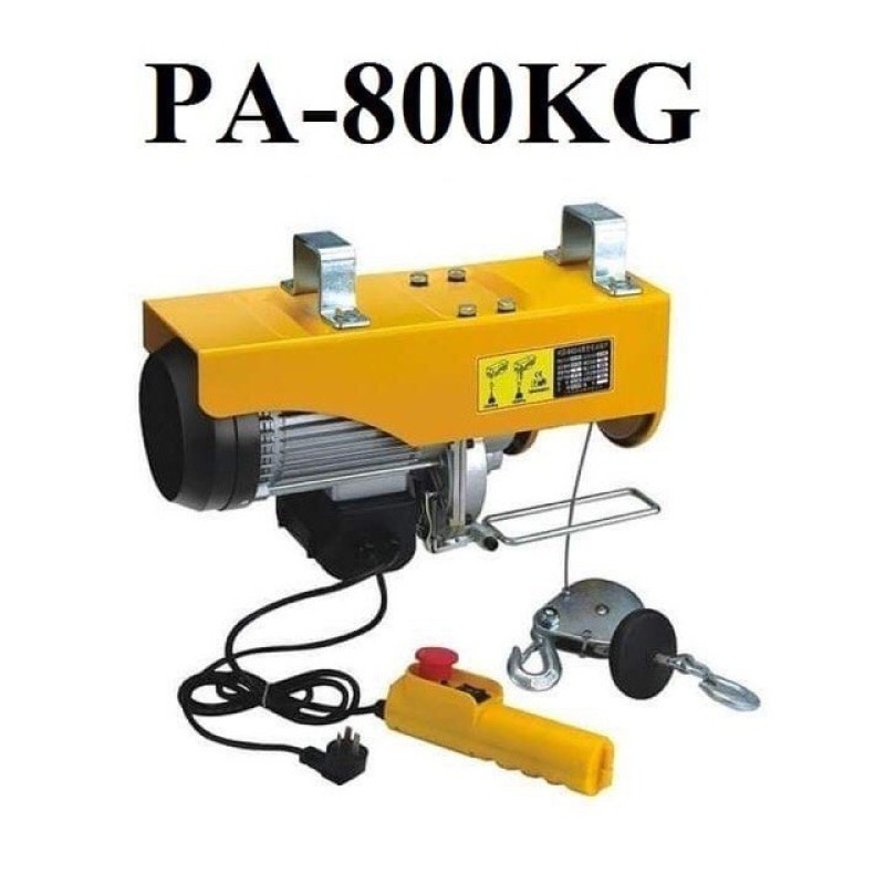 Máy tời điện 800kg - MÁY TỜI TREO - MÁY TỜI [ chọn là mua ]