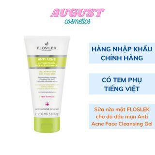 Sữa rửa mặt Floslek giảm mụn cho da dầu mụn Anti Acne Bacterial Face Cleansing Gel thumbnail