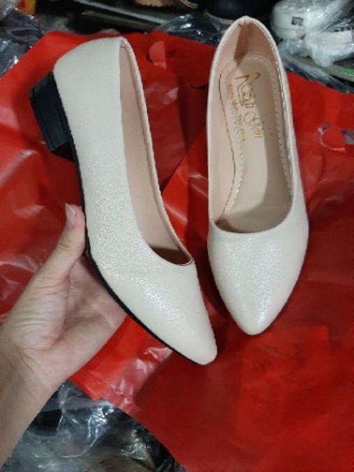 Giày búp bê cao 2p da mềm, chất lượng giá rẻ