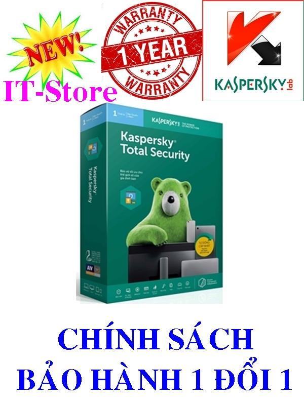 Kaspersky Total Security - 1PC/Năm