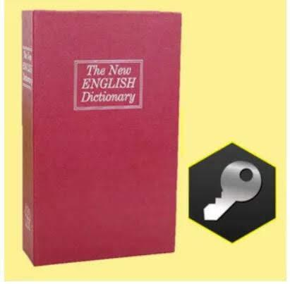 Két sắt mini cuốn sách