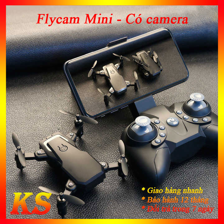 [CÓ VIDEO THỰC TẾ] Flycam mini có camera - flycam điều khiển từ xa - máy bay điều khiển từ xa fly cam - Flycam camera - Flycam drone