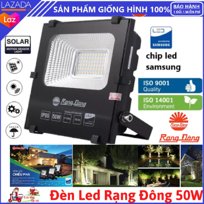 Đèn led rạng đông - Dòng 50W chính hãng - SỬ DỤNG Chip led: SMT Samsung giúp tiết kiệm năng lượng - lỗi 1 đổi 1 trong 7 ngày