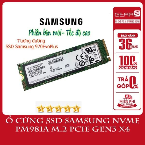 Bảng giá [ngon bổ rẻ]Ổ cứng SSD Samsung NVMe PM981a M.2 PCIe Gen3 x4 256GB Bảo hành 36 T Phong Vũ
