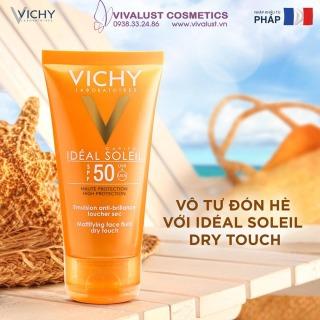 [FREE 20K SHIP] Kem chống nắng Vichy 50ml SPF 50, không nhờn rít, không màu thumbnail