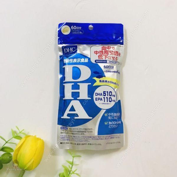 Viên uống bổ sung DHA DHC 60 ngày