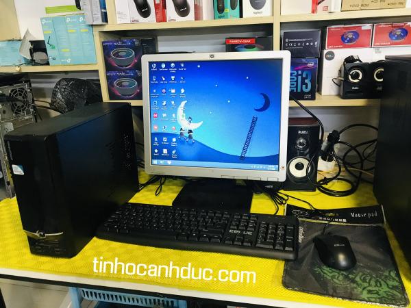 Bảng giá Bộ máy tính để bàn mini pc Acer Core2 Ram 4G HDD 250g kèm màn hình 17 TẶNG kèm phím chuột đầy đủ WIFI LOA  văn phòng nghe nhạc xem phim mượt Phong Vũ