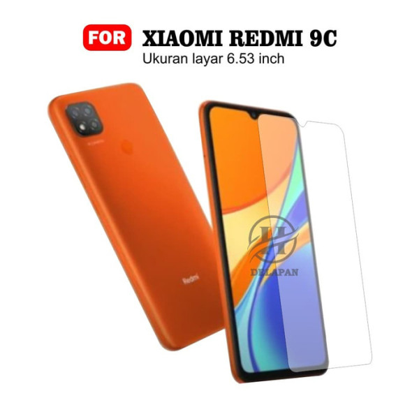 Kính cường lực Xiaomi Redmi 9C (Trong suốt, Không Full)