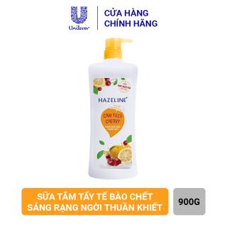 Sữa Tắm Hazeline Tẩy Tế Bào Chết Sáng Da (900g) thumbnail