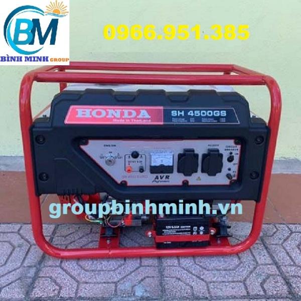 Máy Phát Điện Honda Chạy Xăng 3kw SH4500GS