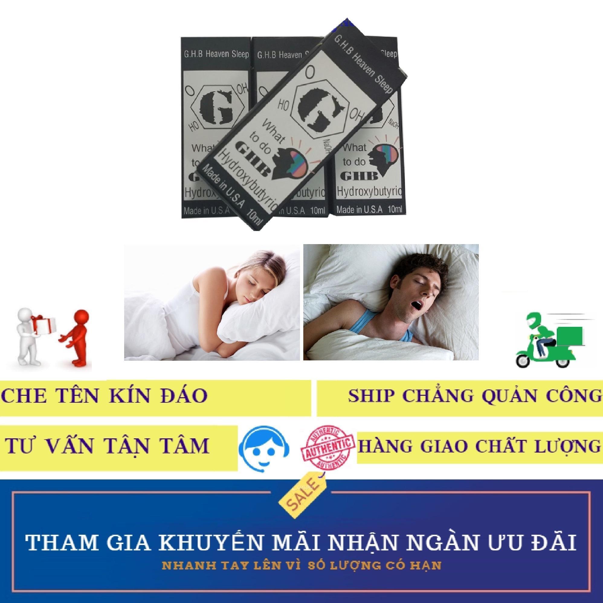 Thuốc dung dịch GHB hỗ trợ mê giấc ngủ (10ml)