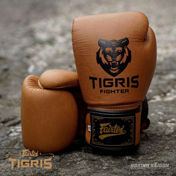 Găng tay Boxing Fairtex x Tigris