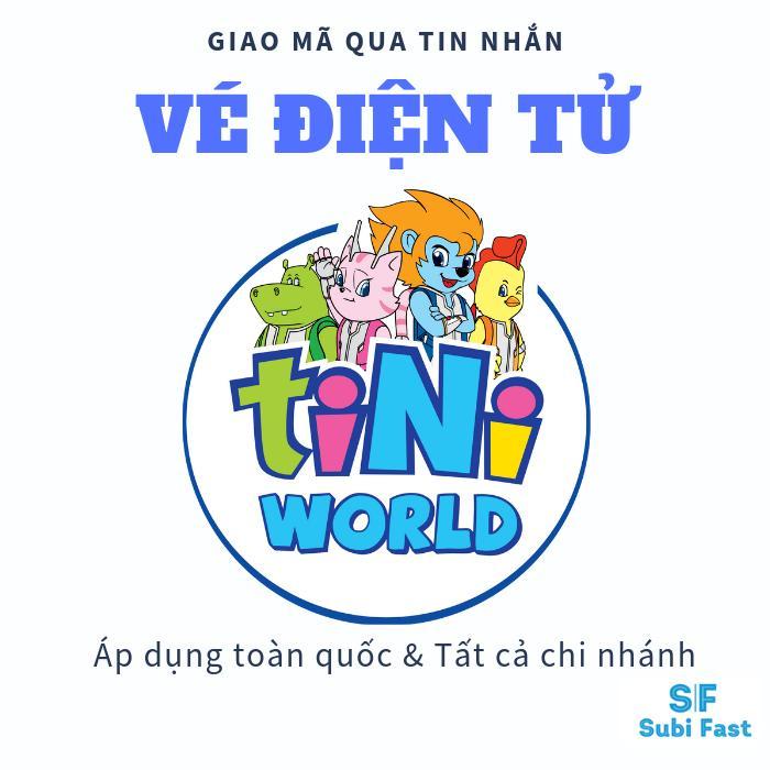 Vé TiNiWorld [1 Evoucher] áp Dụng Toàn Quốc Giảm Giá Cực Sốc - HSD 10/02/2020 Có Giá Siêu Tốt
