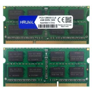 RAM DDR3 1600MHZ 4GB 1.5V 204Pin Memoria Sdram Notebook Memory PC3-12800S Sodimm thumbnail