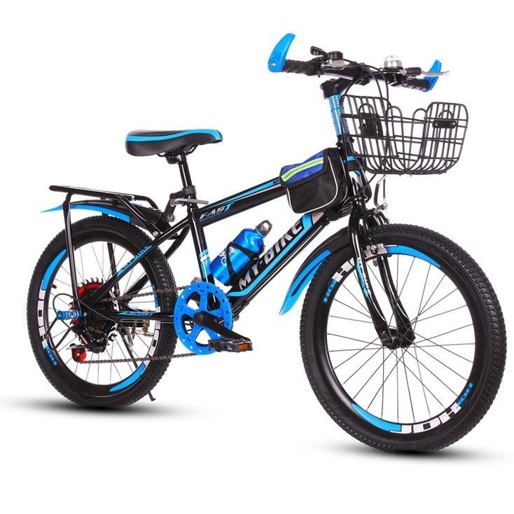 Giá bán Xe đạp thể thao,xe đạp cho trẻ em Size 20-22-24 inch phù hợp từ 6-17 tuổi (Đỏ, Xanh)
