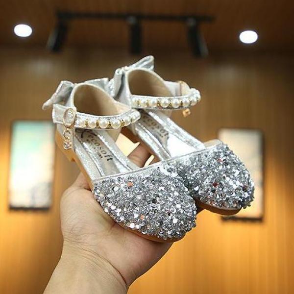 Giá bán giày công chúa bé gái size 21-36 lấp lánh