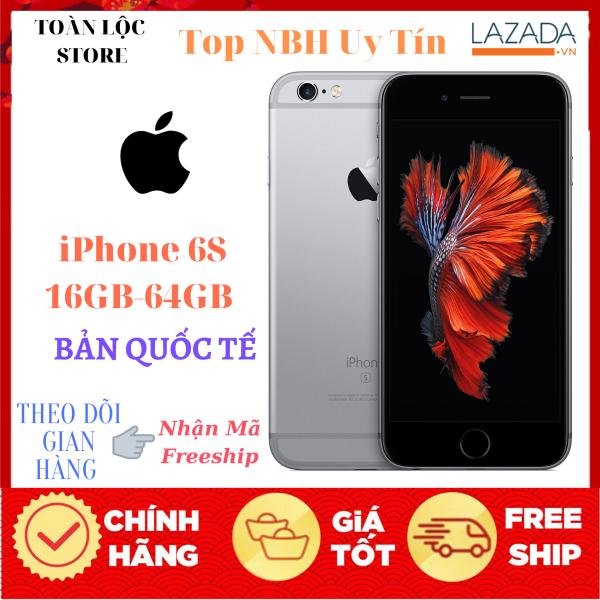 Điện Máy Toàn LộcĐiện Thoại APPLE IPHONE 6S 16GB-128GB  MỚI NGUYÊN ZIN QUỐC TẾ FULLBOX