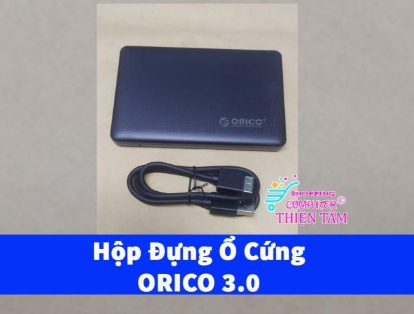 Giá Hộp đựng ổ cứng 2.5 inch HDD Box Orico 2577U3 USB 3.0 (đen)