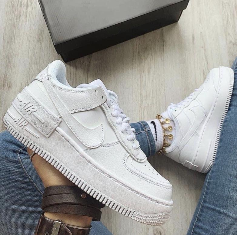 Giày Thể Thao Sneaker Nam Nữ Air Force 1 full FULL White giá rẻ