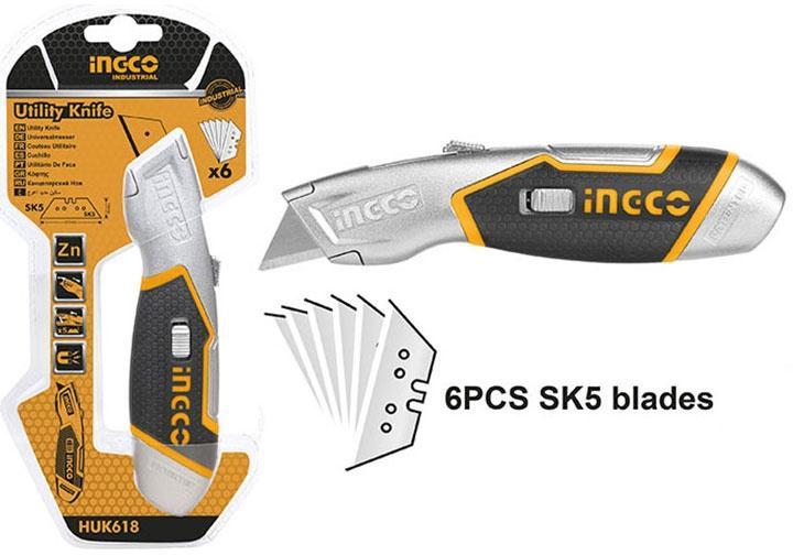 61x19mm Dụng cụ cắt tiện dụng INGCO HUK618