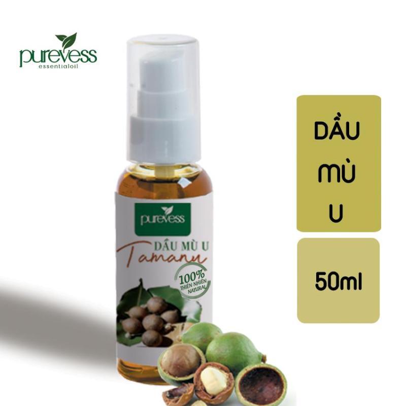 Dầu Mù U giúp làm giảm sự xuất hiện của các vết rạn da sẹo hoặc mụn giúp làm lành vết bỏng mụn nước 50ml PUREVESS