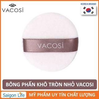 Bông Phấn Khô Tròn Nhỏ Vacosi Makeup House BP19 thumbnail