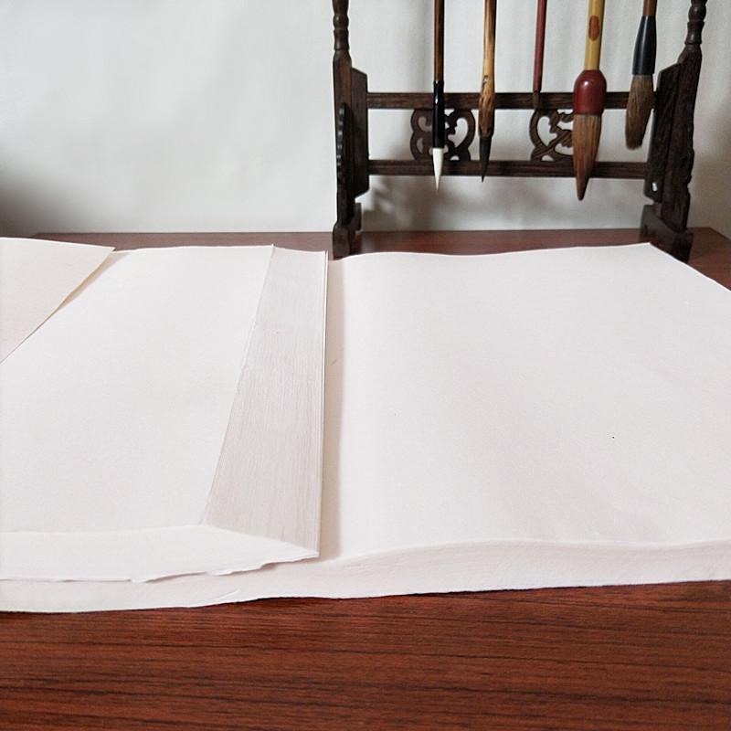 Mua [Khổ 34x69cm] Giấy Xuyến Chỉ (Tuyên Chỉ) Chuyên Dùng Cho Thư Pháp Chất Lượng Thượng Hạng