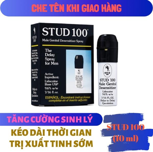 Chai xịt STUD 100 cao cấp (10ml) - hàng chính hãng