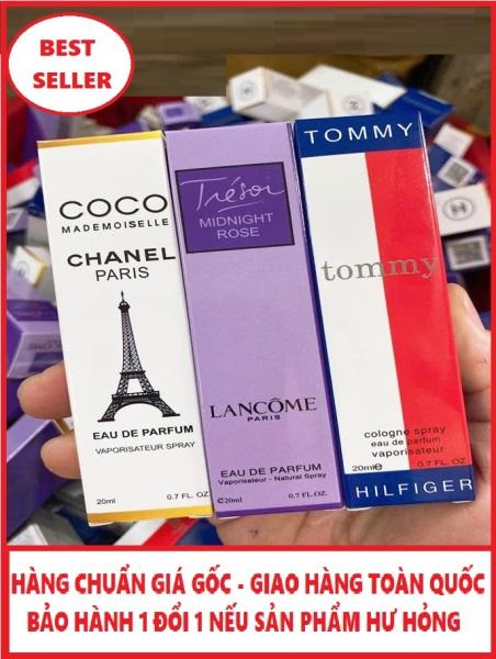 COMBO 3 chai nước hoa nam mini chiết hãng pháp 20ml hương thơm nam tính nhập khẩu